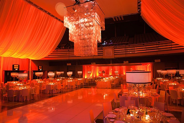 Corporate gala set up at The Carlu in Toronto