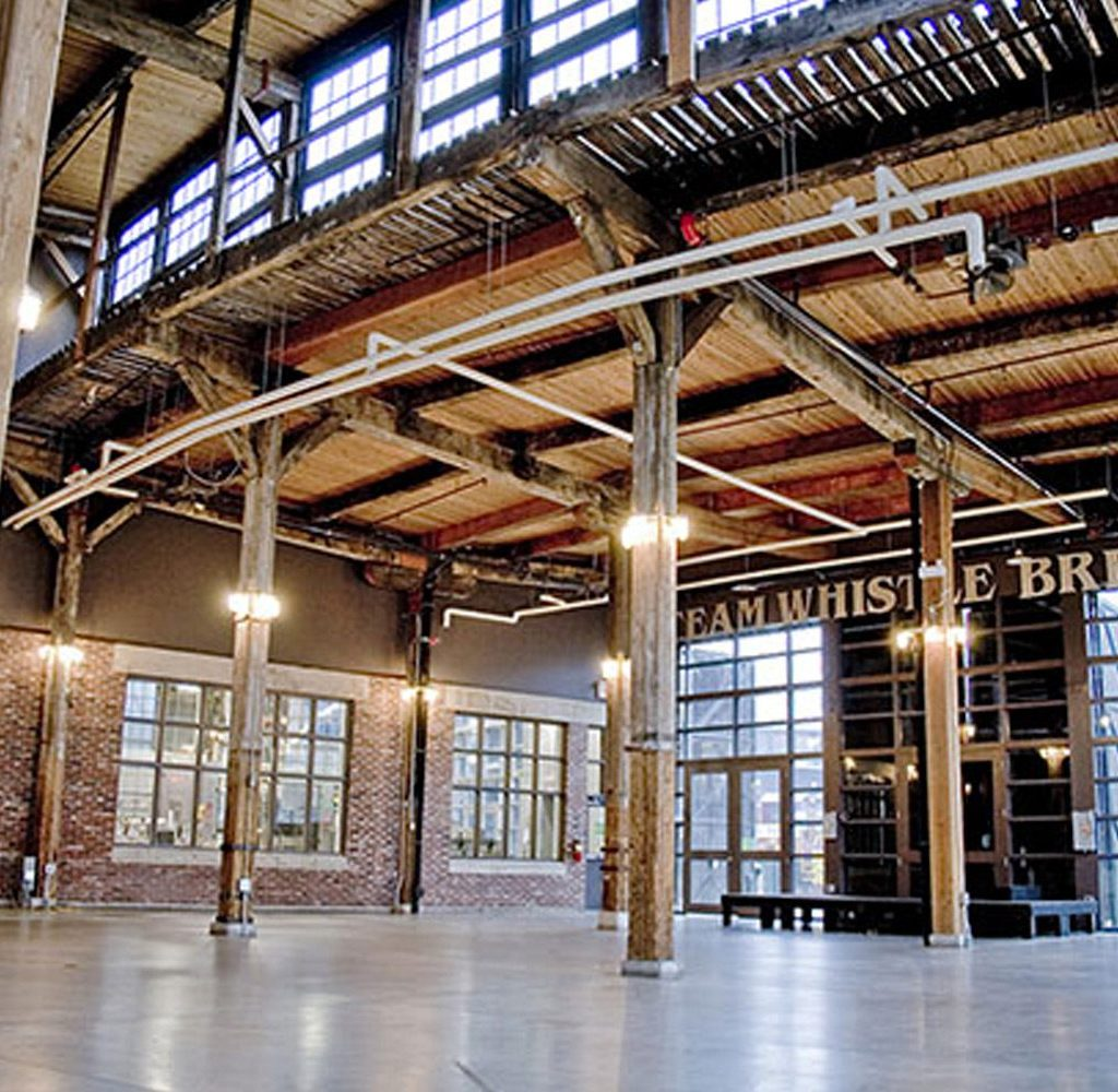 Steam Whistle Roundhouse - Event Venue   Oliver & Bonacini