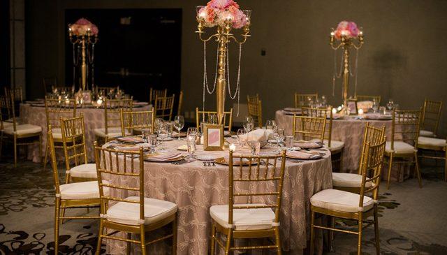 Weddings in our ballroom at the Westin Trillium House, Blue Mountain
