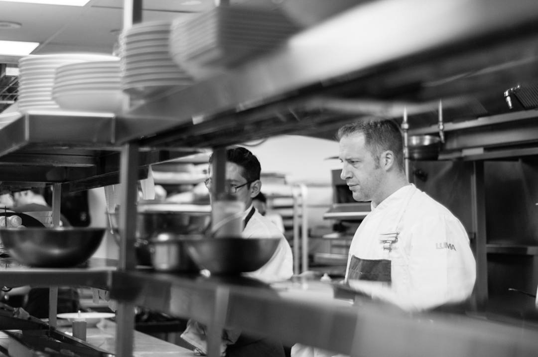 Chef Michael Wilson at Luma Restaurant