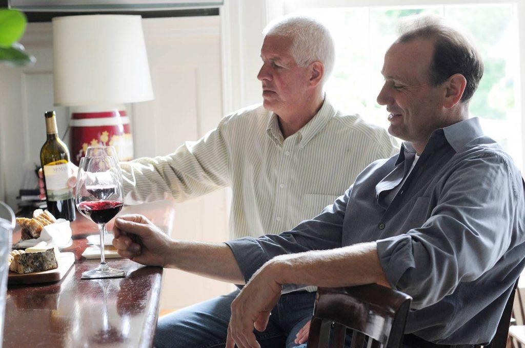 Peter Oliver and Michael Bonacini