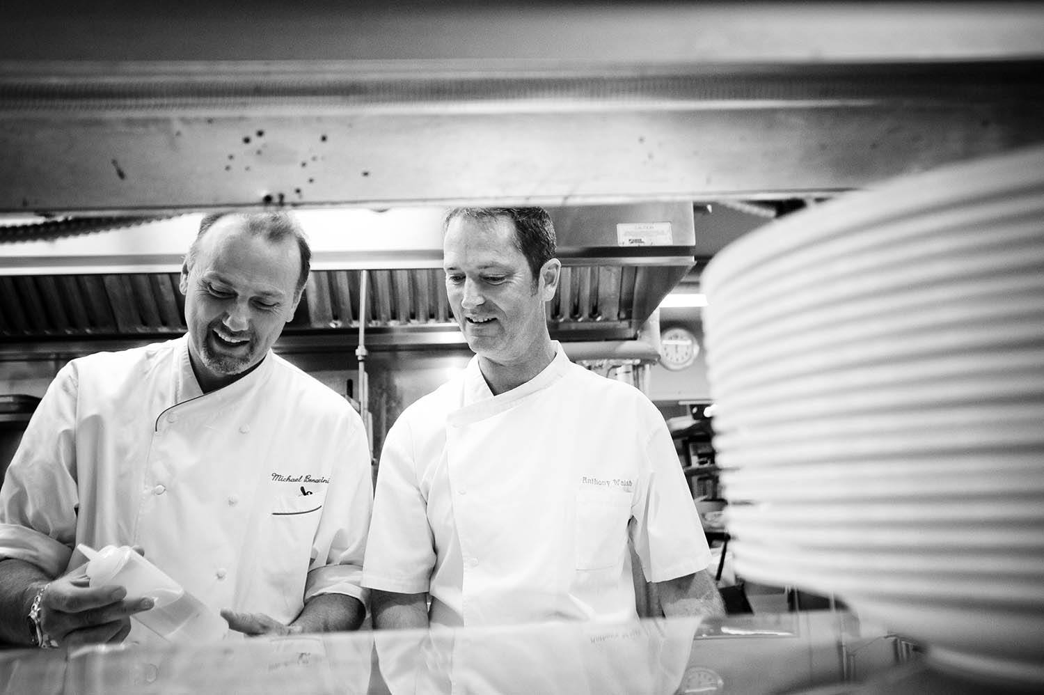 Corporate Leaders - Chefs Michael Bonacini and Anthony Walsh