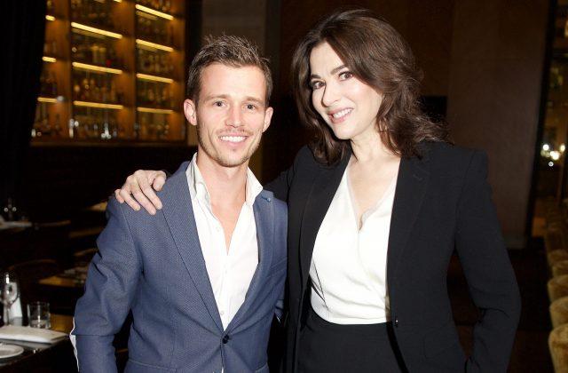 Julien Lavoie and Nigella Lawson