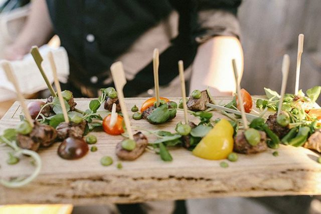 Wedding Catering Services — Canapes
