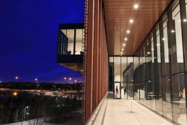 Remai Modern Terrace at Night