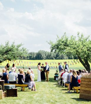 Catering in the Georgian Triangle — Summer Wedding