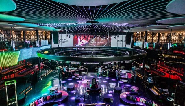 REBEL Toronto Event Venue - overhead shot inside