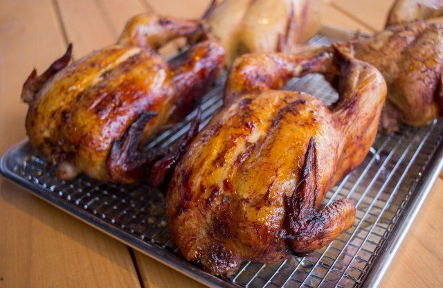Beauty BBQ Smoked Chicken
