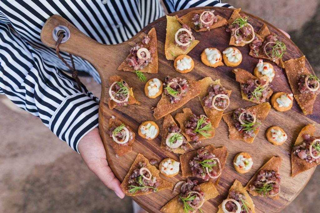 Corporate Catering Services — Canapes