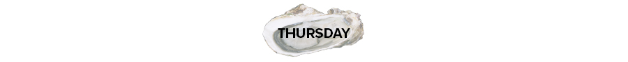 Buck-a-Shuck Oysters on Thursday in Toronto