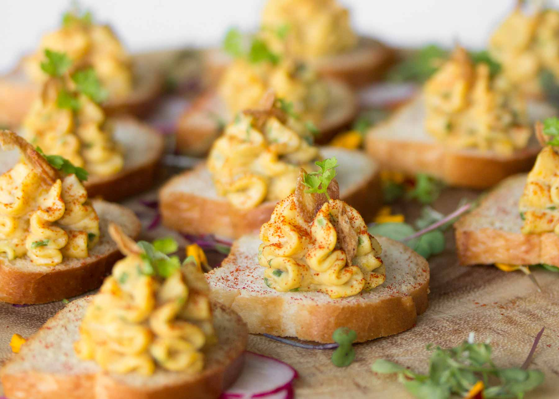 Catering Services — passed canapés