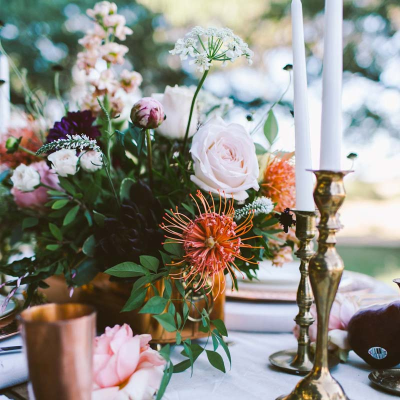 Weddings - floral arrangement