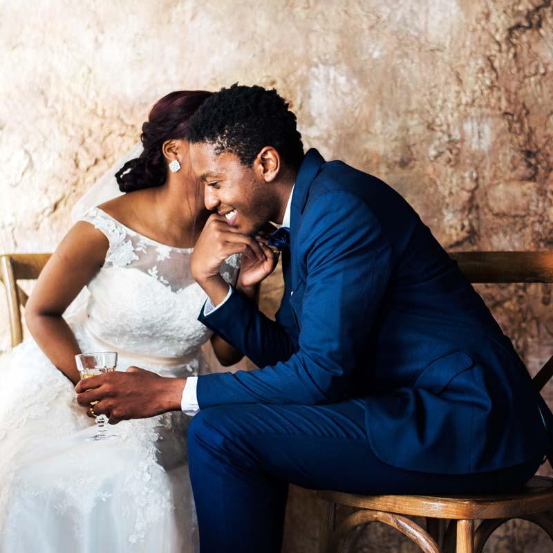 Wedding Venues - image of bride and groom