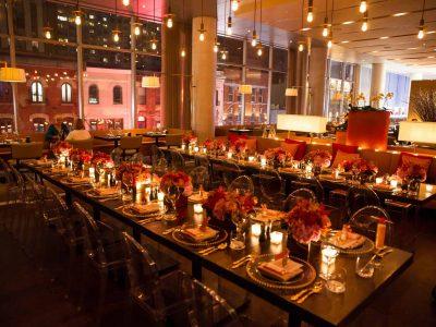 Luma Event Venue Birthday Dinner