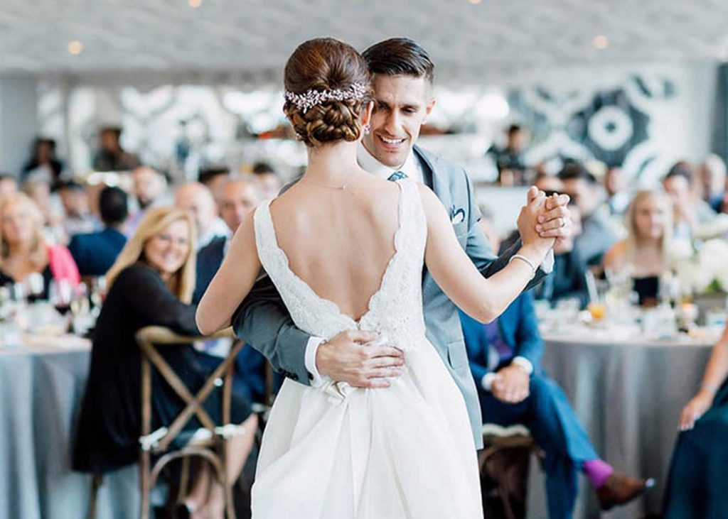 Weddings at Malaparte event space in Toronto