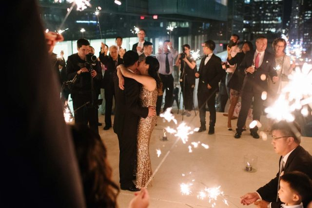 Experience the magic of a rooftop wedding at Malaparte in Toronto