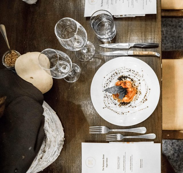 Calgary Catering Services - Dinner at Sub Rosa