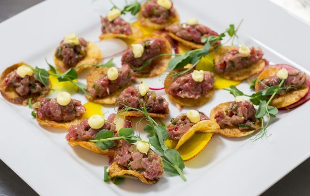 Montreal Catering Services - Steak Tartare