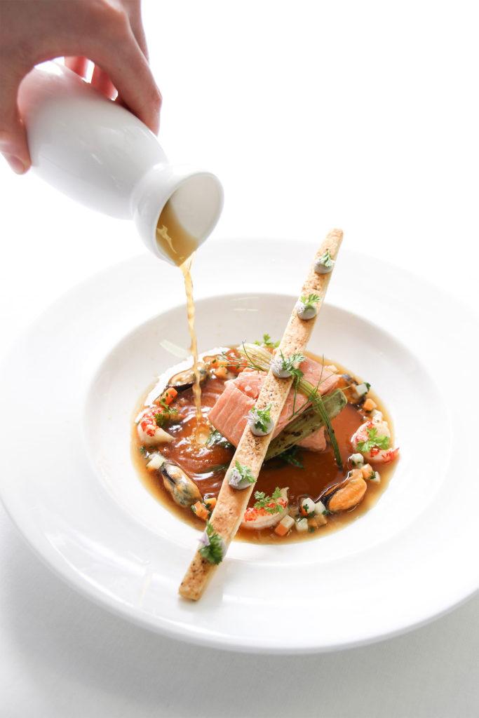 Auberge du Pommier tasting menu