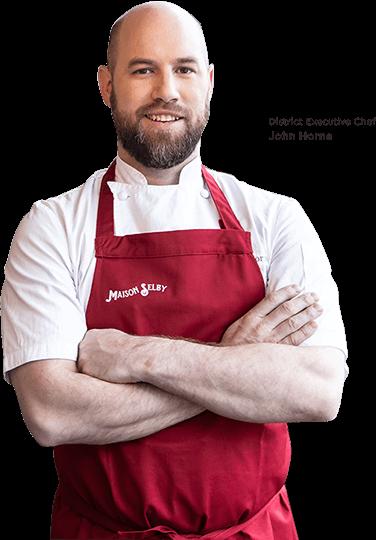 Maison Selby Chef John Horne
