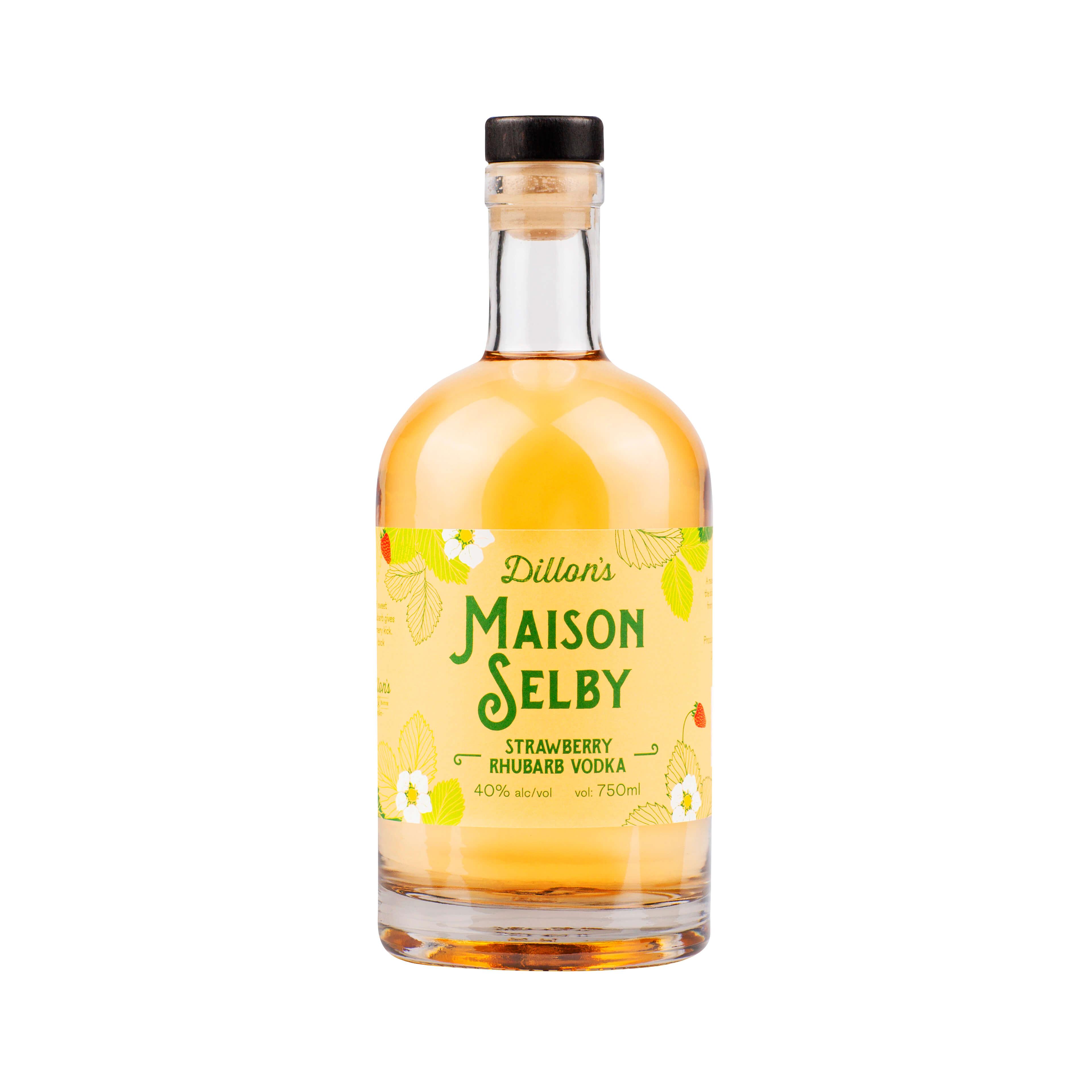 Maison Selby rhubarb vodka