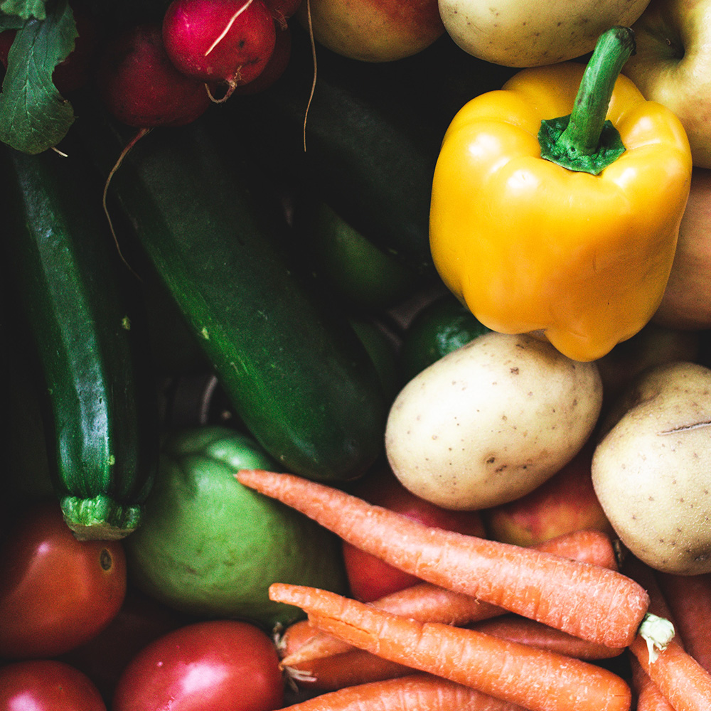 bundle of vegetables for delivery in Toronto