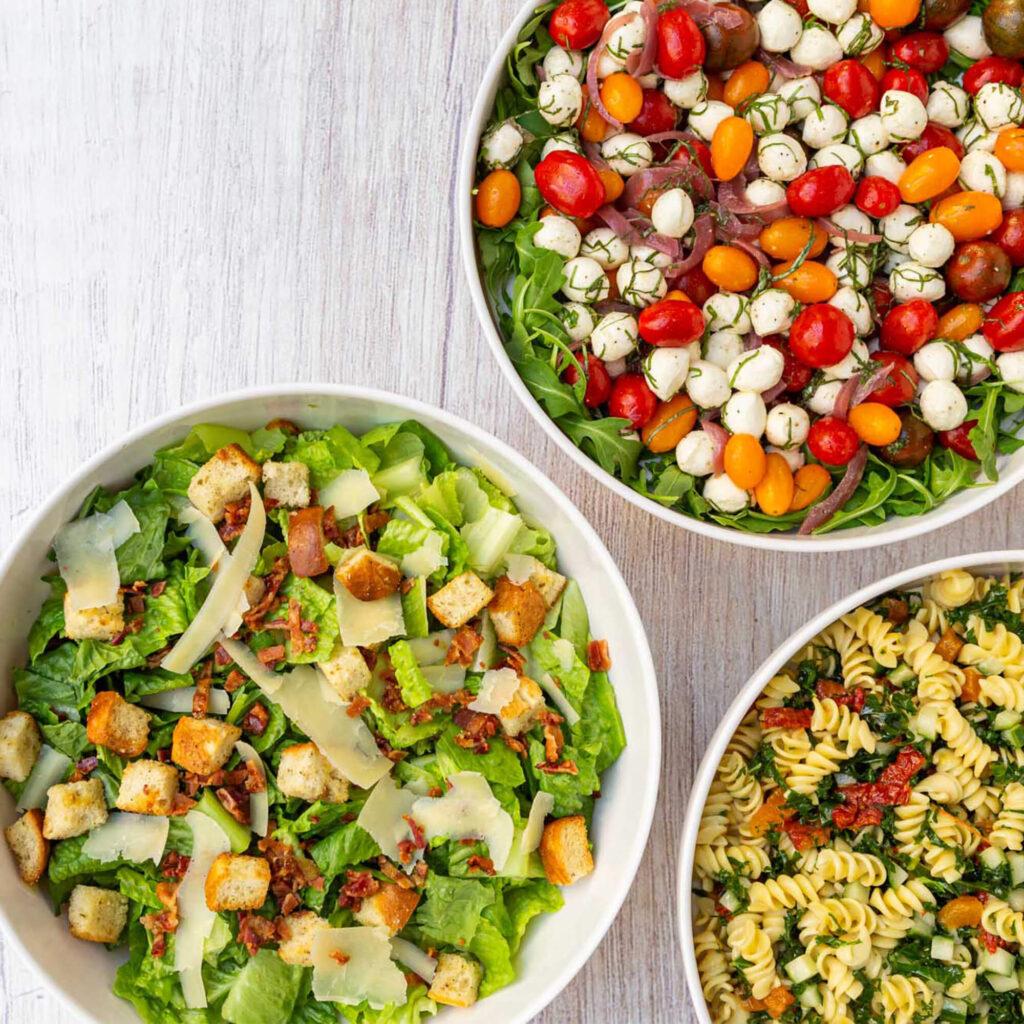 A la carte salads