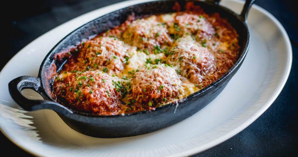 Lasagne dish at Buffo, an Italian Restaurant in Calgary
