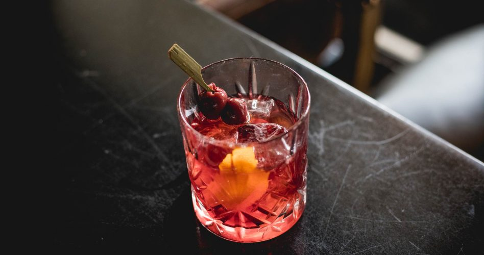Red Fruity Cocktail at Buffo Ristorante