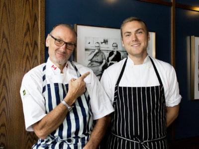 Chef Michael Bonacini and Oscar Bonacini