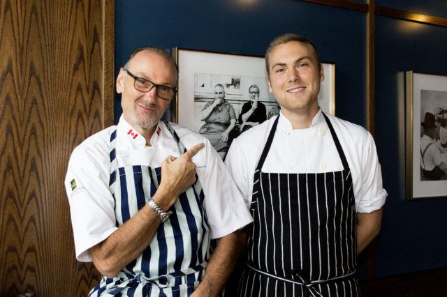 Chef Michael Bonacini and Oscar Bonacini