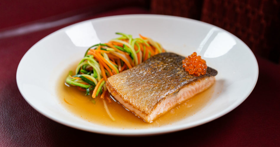 Seared Salmon main