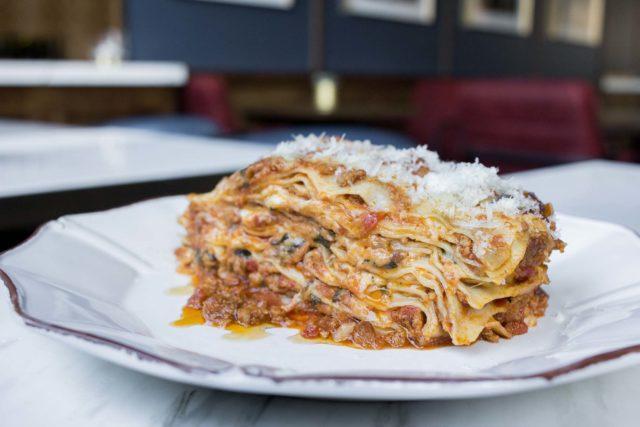 Nonna's Ten Layer Lasagna at Parcheggio