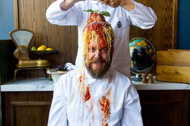 Chef Andrew Piccinin Pasta Club Toronto