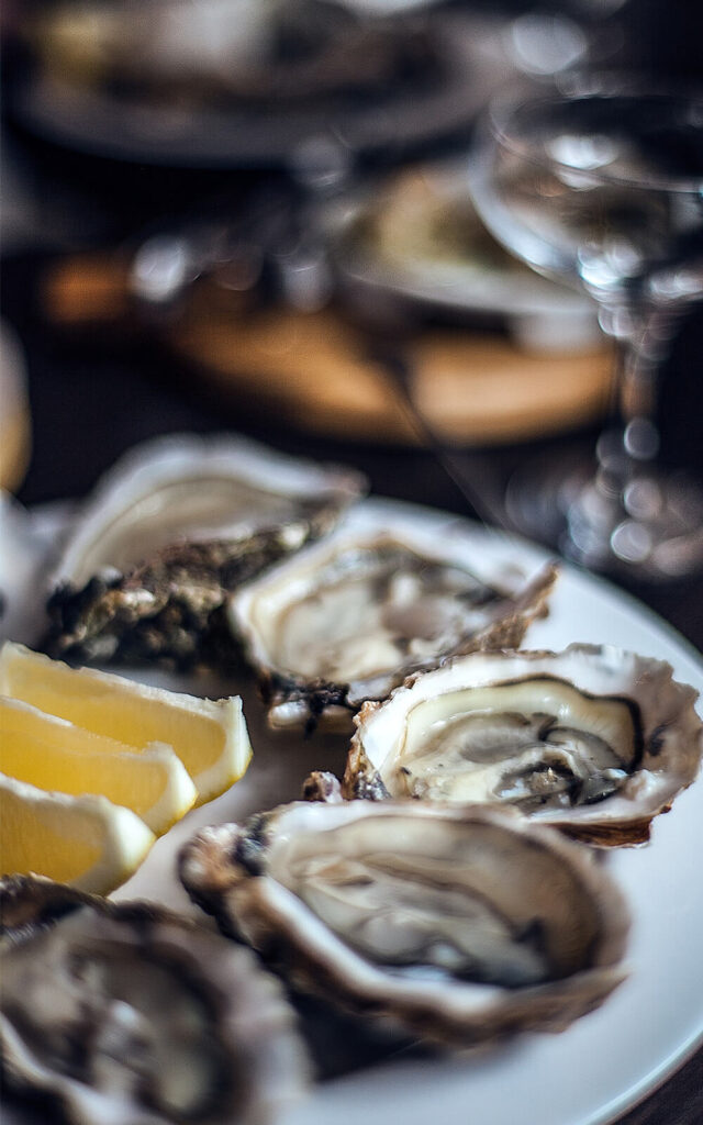 Buck-a-shuck oysters from Parcheggio in Toronto