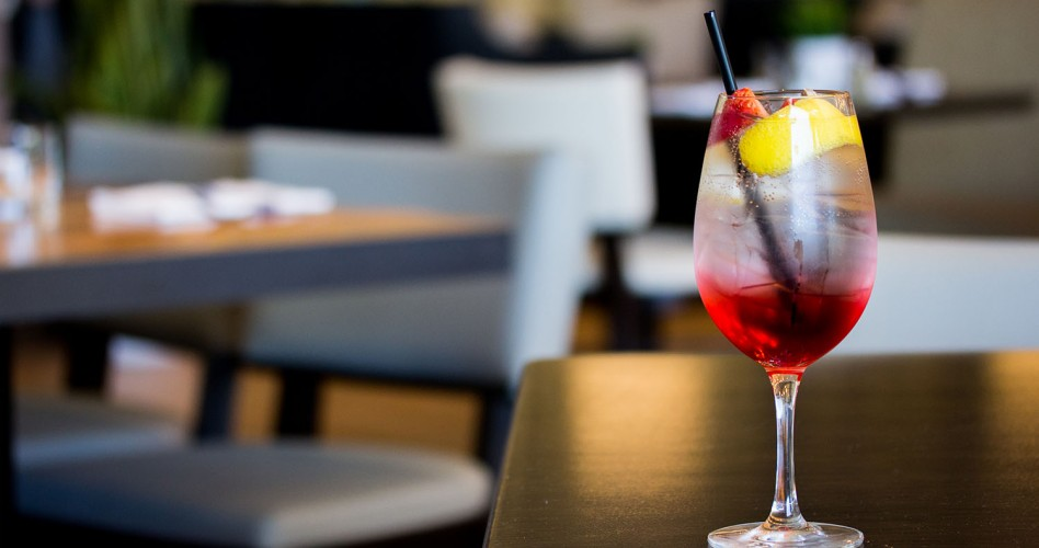 Fifth Avenue Sangria at Beaumont Kitchen