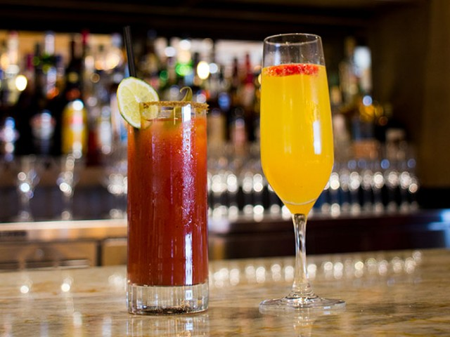 Beaumont Kitchen Caesar and Bellini