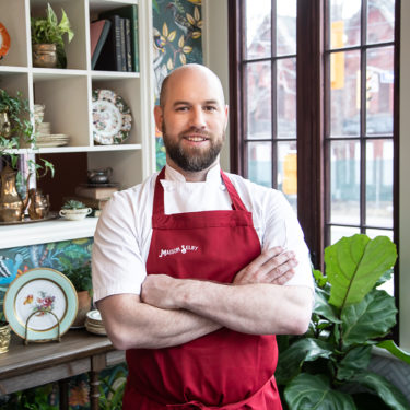 Chef John Horne in L'Orangerie at Maison Selby