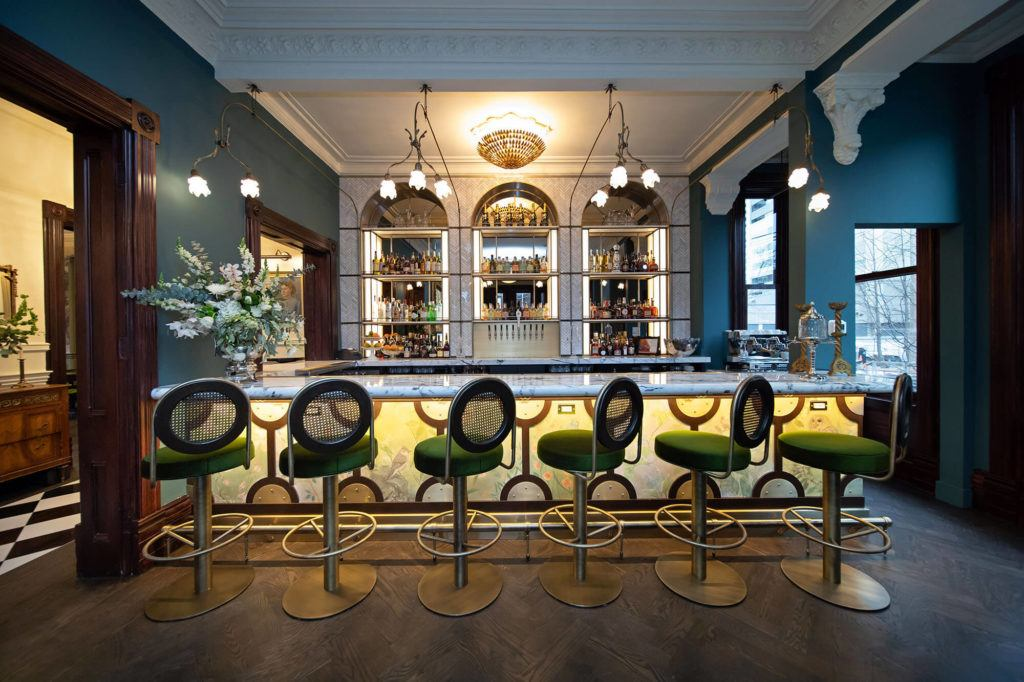 The Maison Selby bar