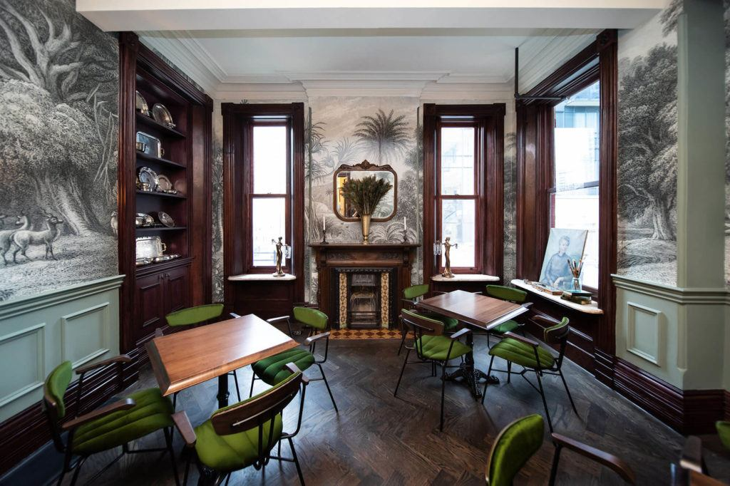The Parlour dining room at Maison Selby
