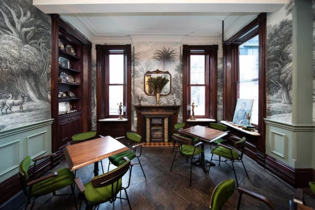 The Parlour dining room at Maison Selby in Toronto