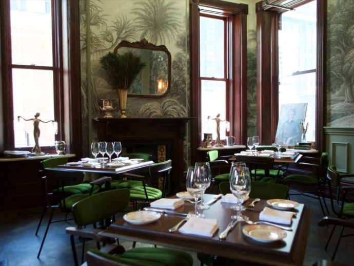 Maison Selby dining room