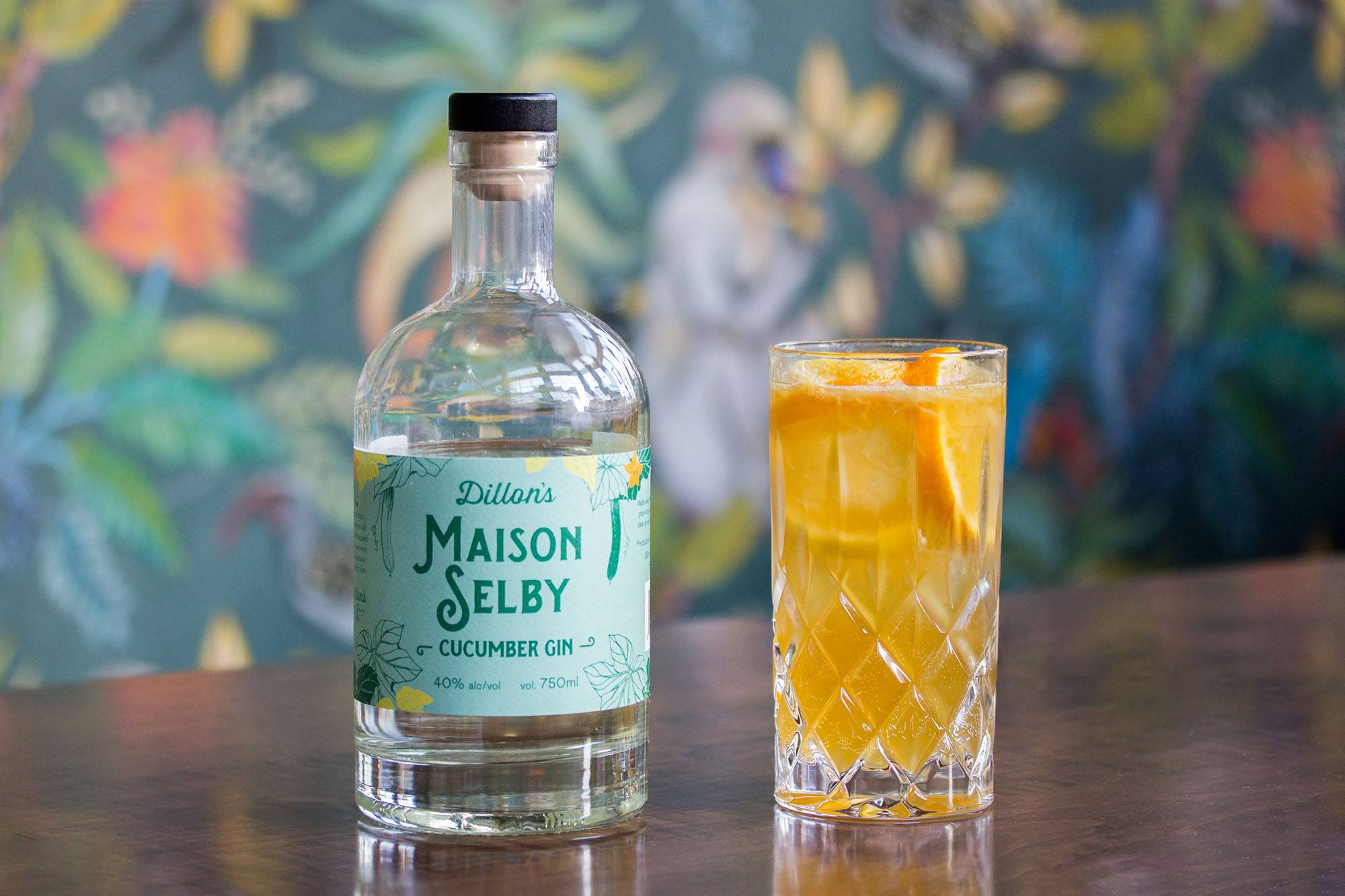 Maison Selby Pimm's Cup Cocktail