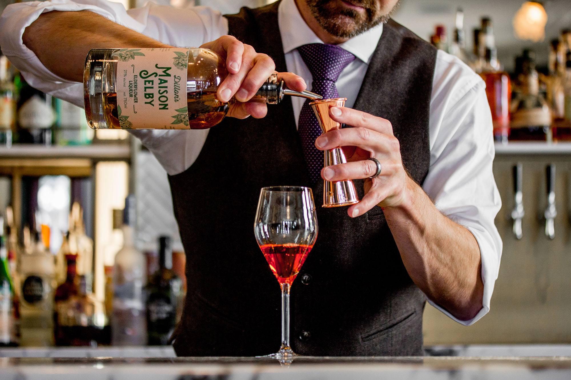 Maison Selby Elderflower Spritz Cocktail