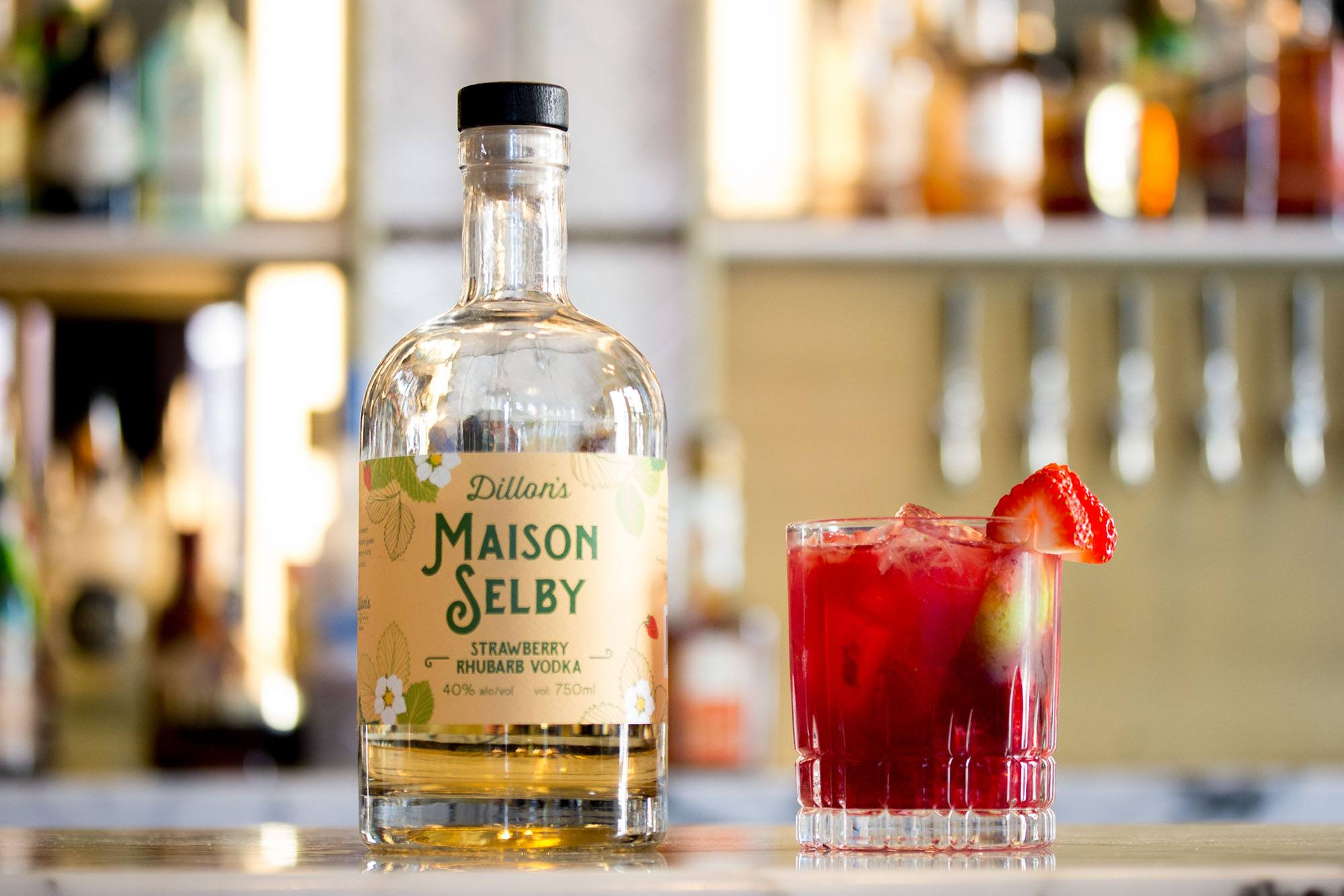 Maison Selby wine gummie cocktail