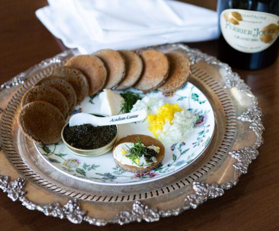 Maison Selby Caviar Service