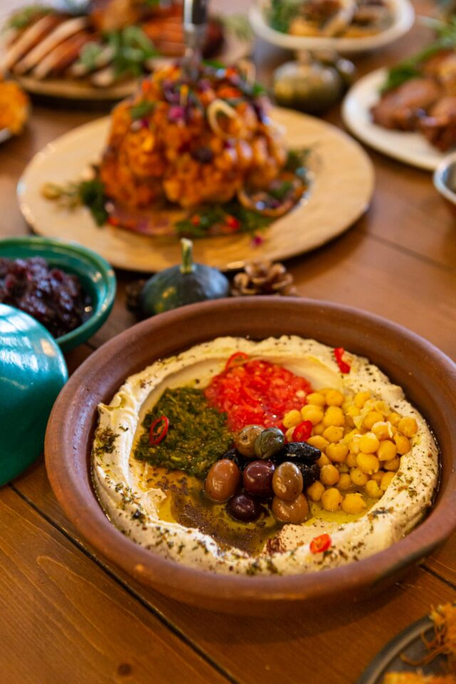 Babel's Hummus - Thanksgiving Shoot